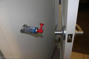 amazing-ways-to-prank-friends-april-fools-door-horn