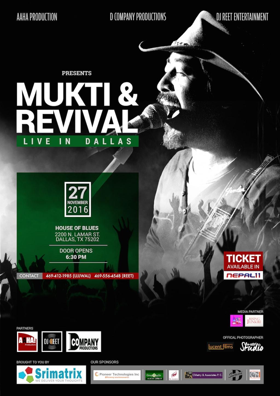 mukti revival poster