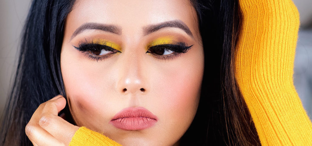 chrome yellow makeup