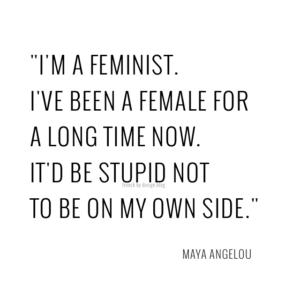 feminist warrior