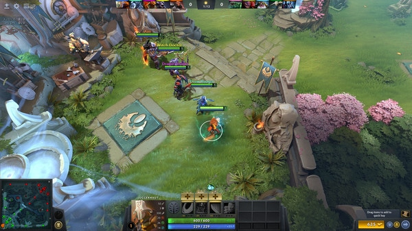 best MOBA games Dota 2 playtime screen