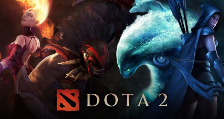 best MOBA games Dota 2 poster