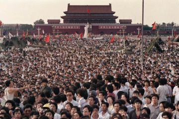 Tiannamen Square protest turned Tiananmen Square massacre 1989