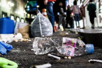 Plastic waste on streets plastic pollution solutions