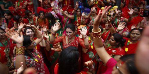 festival of teej-haritalika teej