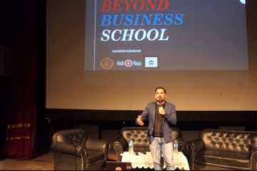 Beyond Business School host Aashish Adhikari from RedMud Coffee