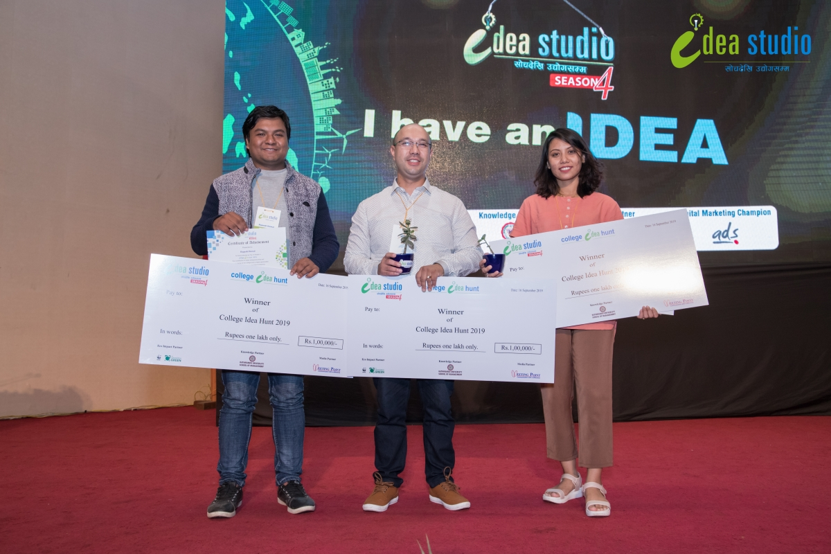 Idea Studio Nepal season four-I have an idea
