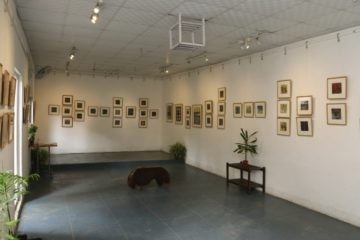 Pop-up exhibition at biklapa art center