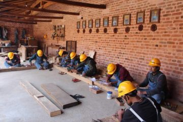 wood carpentry vocational training in Nepal Rabindra Puri Foundation For Conservation
