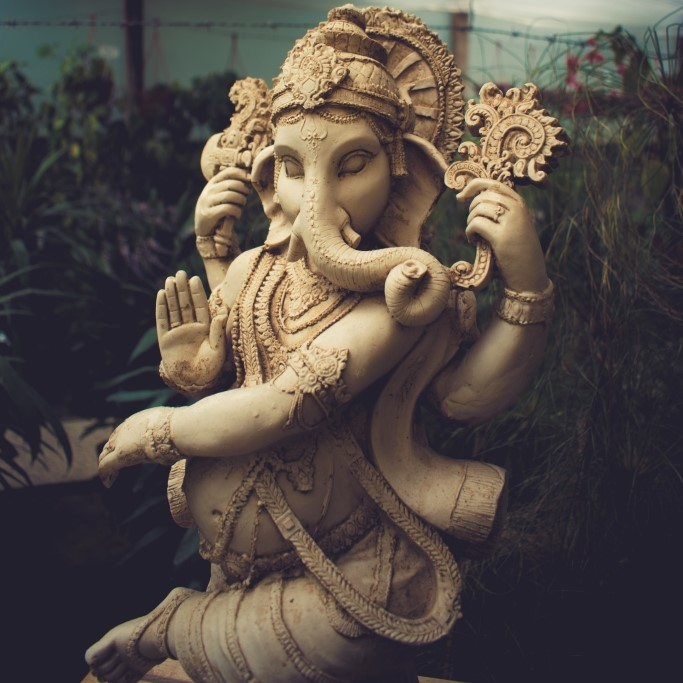 Ganesh idol in shop