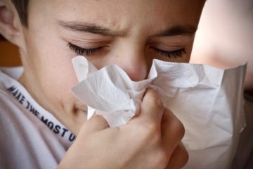 common cold and sneezing